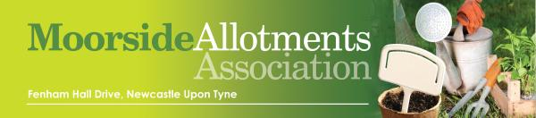Moorside Allotments website header